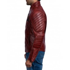 Batman Vs Superman Maroon Jacket