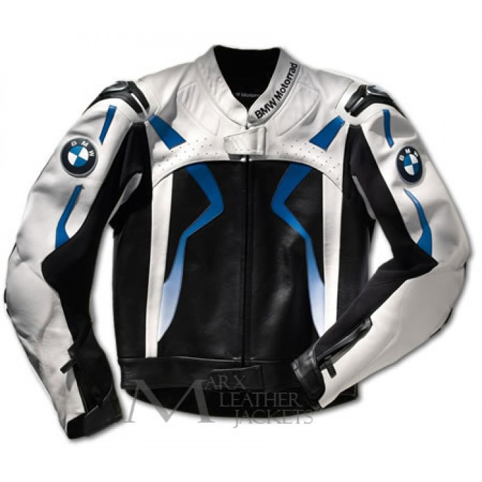 Bmw White Biker Leather Jacket Biker Leather Jackets