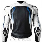 BMW White Biker Leather Jacket
