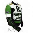 Kawasaki Ninja Motorcycle Racing Leather Jacket