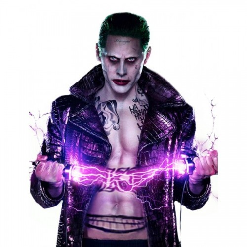JARED LETO'S JOKER EMPIRE LONG COAT COSTUME SUCIDE SQUADE