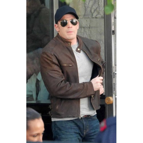 Captain America Civil War Steve Rogers Jacket