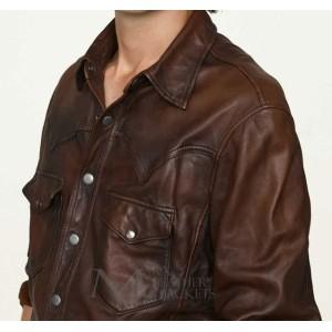 Marx Vintage Leather Shirt