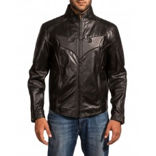 Batman Black Leather Jacket