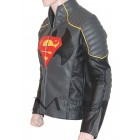 Batman VS Superman Black Leather Jacket