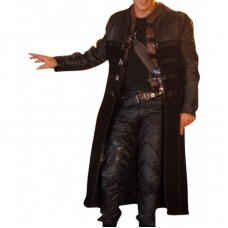 Ben Browder John Crichton Farscape Trench Leather Coat Costume