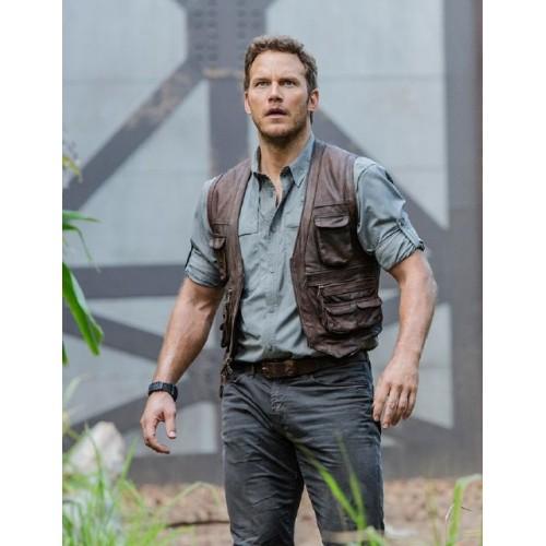 Owen Grady Jurassic World Chris Pratt Hunter Vest