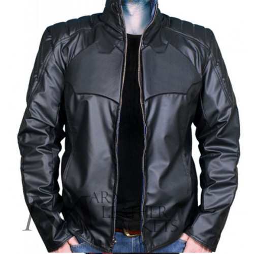 Reversible Batman And Superman Leather Jacket