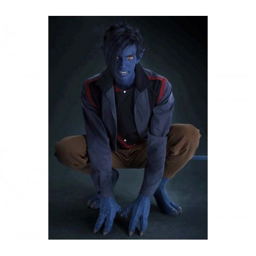 X-Men Apocalypse Nightcrawler Kodi Smit-McPhee Blue Jacket