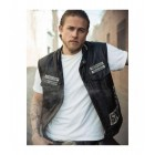Jax Sons Teller Of Anarchy Motorcycle Leather Vest All Patches
