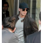 Chris Evans Captain America Civil War Brown Jacket
