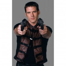 Farscape John Crichton (Ben Browder) Leather Vest Jacket