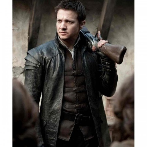 Hansel And Gretel Jeremy Renner Leather Coat