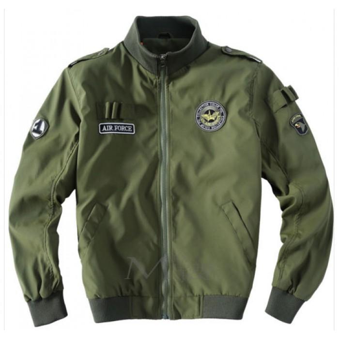 Mens U.S Army Classic Bomber Flight Jacket Air Force Jacket | Marx ...