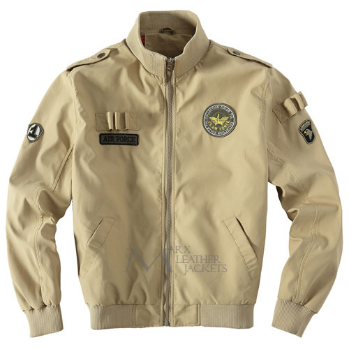 Mens U.S Army Classic Bomber Flight Jacket Air Force Jacket  75755900686