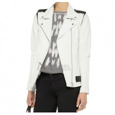 Marx Savage Convertible Leather Biker Jacket