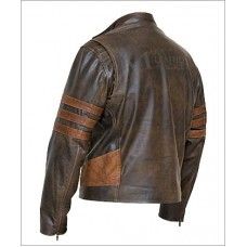 X-Men Origins Wolverine Biker Jacket