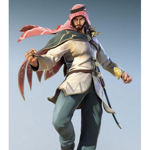 Teken 7 Shaheen Character Arabian Style Jacket Costume