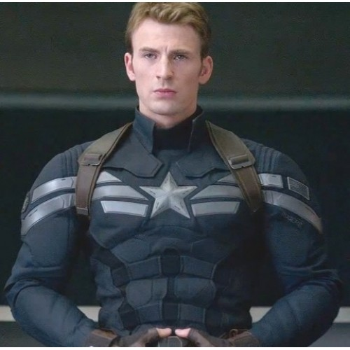 Captian America Winter Soldier Inspired Blue Jacket