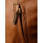 Marx Leather Jacket Ladies Tan Parka