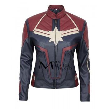 Captain Marvel Movie Carol Danvers Jacket