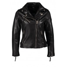 Marx Gipy Fitted Black Leather Jacket
