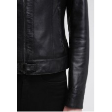 Marx Oak Leather Jacket For Women