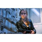 Terminator Genisys Emilia Clarke (Sarah Connor) Leather Jacket