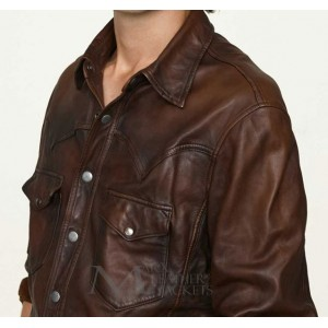 Marx Vintage Leather Shirt