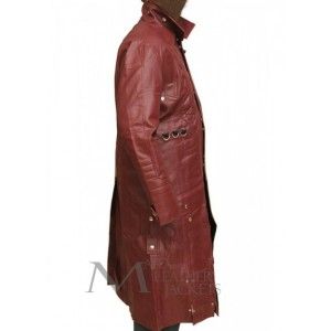 GUARDIANS OF THE GALAXY STAR LORD LEATHER COAT