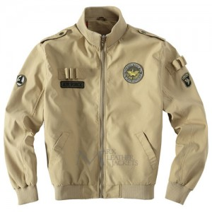 Mens U.S Army Classic Bomber Flight Jacket Air Force Jacket